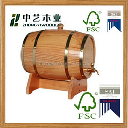 2015 wooden wine Barrel for sale at best price