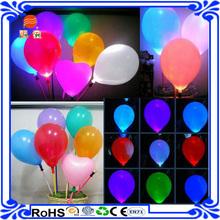 12inch wholesale on amazon printed inflatable flashing led light balloons