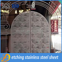 304 decorative 0.8mm thick stainless steel metal sheet for construction