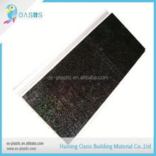 On-time delivery factory directly middle groove pvc plastic panels for walls