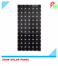 Good price 200W Monocrystalline Solar panel