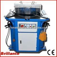 BRILLANTE:STEEL SHEET VARIABLE ANGLE SHEAR CUTTER MACHINE