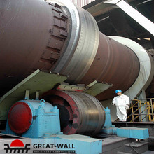 oversea general contract project china supplier rotary kiln hot sale in Iran