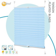 new design Easy Fix tension pleated curtain