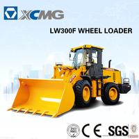 XCMG mini wheel loader LW300F (3tons loader machine) of loader