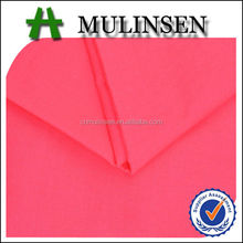 Mulinsen Textile High Quality Plain Dyed and Printed Woven Stretch Poplin Sateen Voile Ladies Cotton Fabric