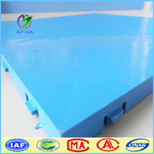 high gloss colorful pp interlocking floor for sale