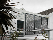 Brazil laser cut art metal fence