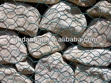 anping PE coated or galvanized steel wire mesh gabion basket