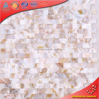 Bk03 Beige Foshan Factory Decoration Mother Of Pearl Mosaic Tablet