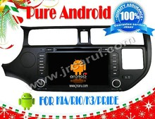 Android 4.4 auto radio dvd for KIA RIO spice 2012 RDS,Telephone book,AUX IN,GPS,WIFI,3G,Built-in wifi dongle