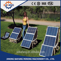 Portable Solar Power System whole house solar power panel system for commercial and household