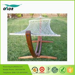 Swing Solid Wooden Stand Garden Hammock