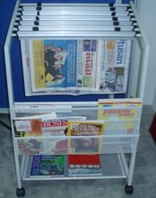 Newspaper & Magazine Rack