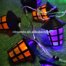 Hot sale colorful bird cage light string