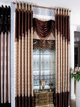 2015 simple desig europen style drapery curtain