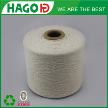 unbleached Colored dyed blend 70/30 OE Recycled Cotton Yarn For Weaving