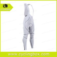 Smooth and soft fabric long bib tight pants form cyclingbox with customized