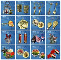 the unique design metal travel souvenir from direct manufacture