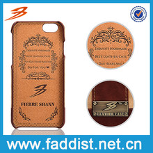 High quality personal design gift box with Real leather case for iphone 6 plus and men's bag