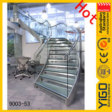 used metal curved stairs / circular staircases