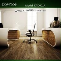 Fashion style modern white rectangular executive office desk office partner desk