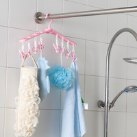 Multifunction Folding and Expandable Plastic PP Clothes and Socks Hanger