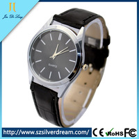 2014 1USD Cheapest Ultra-thin Leisurely Business Luxury Mens Watch