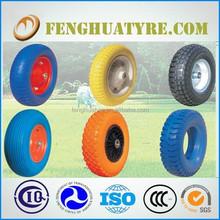popular pneumatic rubber wheel of USA 350-4 2PR