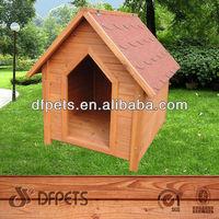 Economic Dog House Made Of Fir Timber DFD3017