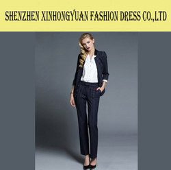 made to measure lady office uniform design and women business suit