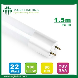 Top level new products 22w led tube light ul