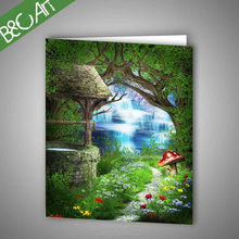 Oil painting canvas large size exquisite wall hanging picture modern natural scene oil painting