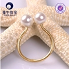 925 silver natural freshwater pearl ring designs hot sale EU market