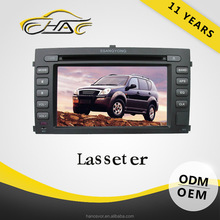 For ssangyong rexton 7 inch car dvd player with gps navigation system with car radio FM AM