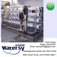 Moveable RO Host of Brackish Water Desalination Plant