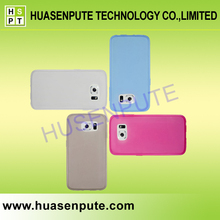 China Manufacturer High Quality Color Change Back Cover For Samsung Galaxy S6, Low Price TPU Case For S6