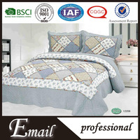 China Factory Products patchwork bed sheets/handmade bedding set