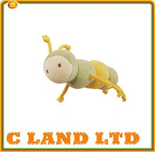 Customize high quality plush bee baby toys with blanket
