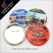 tin button badge / pin button badge materials / button badges pin