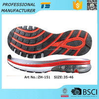 Comfortable Tpr Air Cushion Max Free Ladies' Sport Shoe Sole Factory