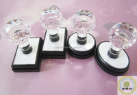 Personal flash stamp crystal mount handle
