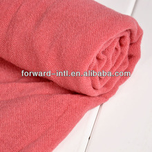 high quality knitted cashmere blanket for baby , baby cashmere blanket