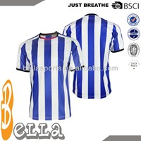Wholesale sublimation printing soccer jersey soccer shirts football tshirts sportswear soccer apparel manufacturer