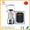 Solarbright manufactured emergency hang portable rechargeable led camping solar rechargeable lantern
