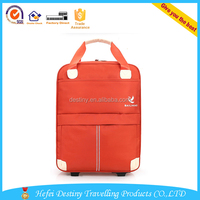 hot selling popular color waterproof large capacity tote clothes trolley