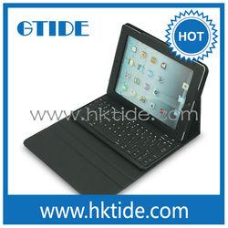 bluetooth keyboard with leather case for iPad,smartphone keyboard case,keyboard macbook a1181
