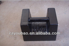 20kg standard cast iron weight supplier