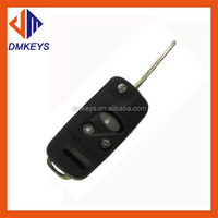 High Quality Remote Car Key Blank/ blade 3 button flip honda remote key blank/3+1 Buttons Flip Remote Key Shell for honda key