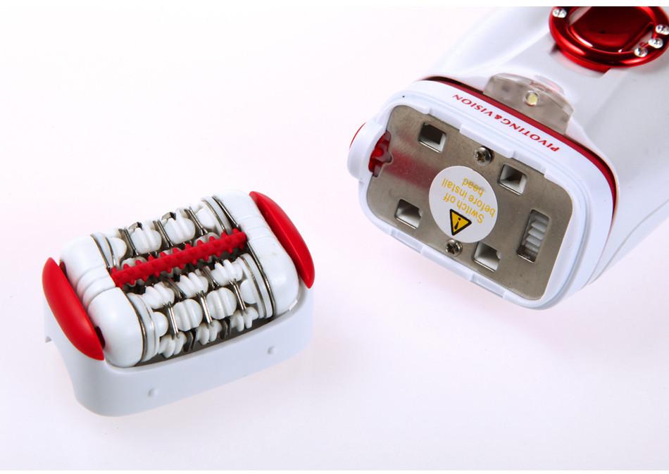 Кемеи 2668 моющиеся эпилятор для женщин депиляция аккумуляторная бритва автоматически эпилятор для удаления бикини лицо машинку